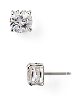 Ralph Lauren - Cubic Zirconia Stud Earrings, 6mm