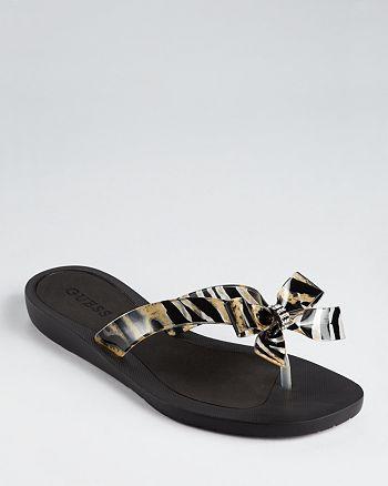 cf5536169 GUESS - Flip-Flops - Tutu Bow