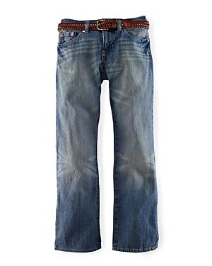 Ralph Lauren Childrenswear Boys' Slim Fit Jeans in Mott Wash - Sizes 8-20