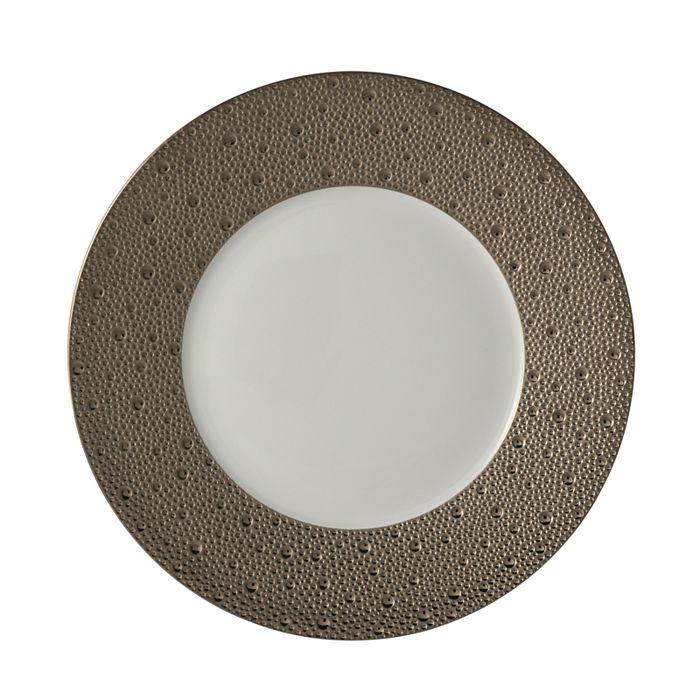 Bernardaud - Ecume Platinum Dinner Plate