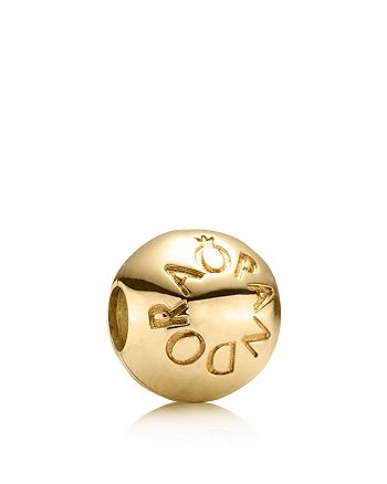 PANDORA - Moments Collection 14K Gold Loving  Clip
