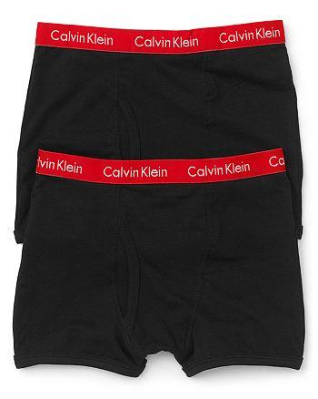 7706f27e3b8e71 Calvin Klein CK Boys' Boxer Briefs, 2 Pack - Little Kid, Big Kid ...