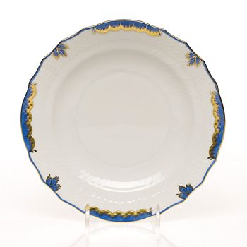 Herend - Herend Princess Victoria Salad Plate, Blue