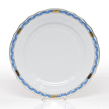 Herend - Chinese Bouquet Dinner Plate, Garland Blue
