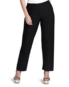 Eileen Fisher Plus - System Stretch-Crepe Straight Pants