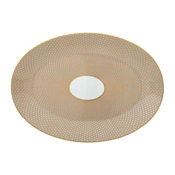 Raynaud - Tresor Orange Large Oval Dish
