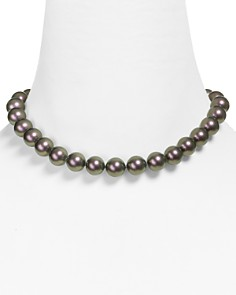 """Majorica Monochrome Simulated Pearl Necklace, 16"""" - Bloomingdale's_0"""