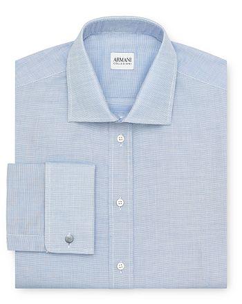 Armani - Micro Texture Dress Shirt - Regular Fit