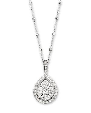 Diamond Pendant Necklace in 14K White Gold, 1.50 ct. t.w. - 100% Exclusive