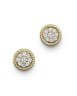 Diamond Earrings in 14K Yellow Gold, .25 ct. t.w.