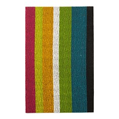 "Chilewich Bold Stripe Indoor/Outdoor Shag Mat, 18"" x 28"" - Bloomingdale's_0"