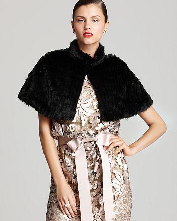 Sue Wong - Faux Fur Wrap