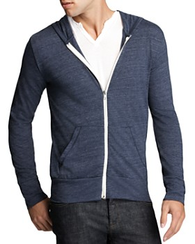 ALTERNATIVE - Heathered Zip Hoodie