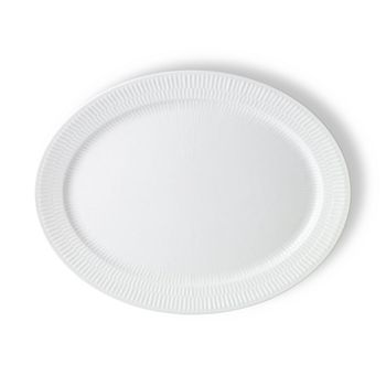 Royal Copenhagen - White Fluted Plain Oval Platter
