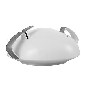 Rosenthal Skin Platinum Covered Vegetable Bowl