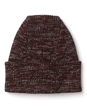 The Men's Store at Bloomingdale's - Merino Wool Melange Cuffed Hat - 100% Exclusive