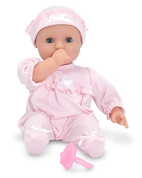 "Melissa & Doug - Girls' Jenna Doll, 12"" - Ages 18 Months+"