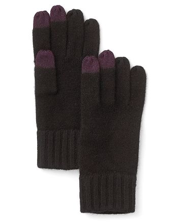 The Men's Store at Bloomingdale's - Textured Finger Text Gloves - 100% Exclusive