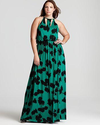 Rachel Pally White Label Plus - Elan Printed Dress