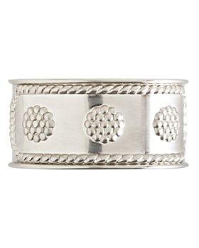 Juliska - Juliska Berry & Thread Napkin Ring, Bright Satin