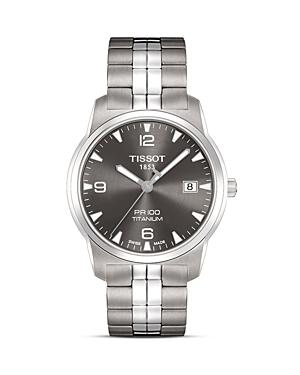 Tissot Pr 100 Men's Anthracite Quartz Classic Watch, 38mm