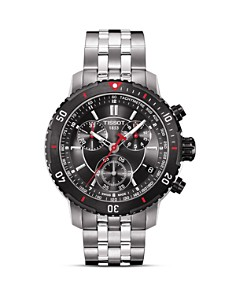 Tissot PRS 200 Men's Black Quartz Sport Watch, 42mm - Bloomingdale's_0