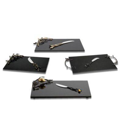 Black Orchid Cheese Board & Knife