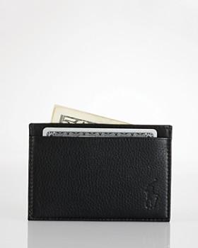 Ralph Lauren - Pebbled Leather Slim Card Case