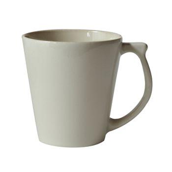 Jars - Vuelta White Pearl Mug, 9.9oz