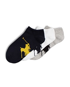 Polo Ralph Lauren Big Polo Player Socks, Pack of 3 - Bloomingdale's_0