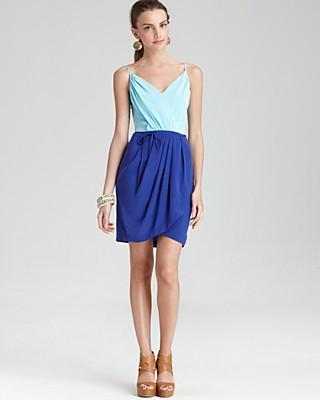 Yumi Kim Dress Jayne Color Block Silk Bloomingdale S