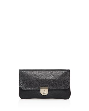 Longchamp - Veau Foulonne Travel Clutch