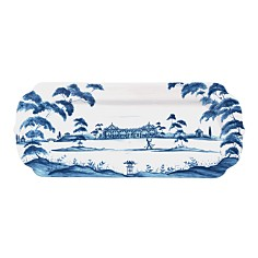 Juliska - Country Estate Delft Blue Hostess Tray Garden Party