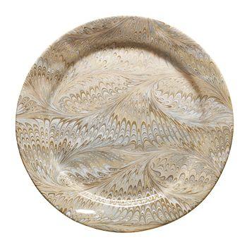 Juliska - Firenze Marbleized Charger Serving Plate