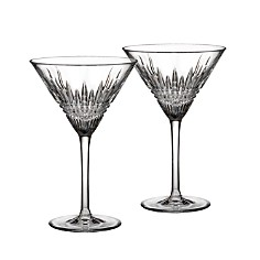 Waterford Lismore Diamond Martini Glass, Set of 2 - Bloomingdale's_0