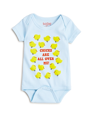 Sara Kety Boys Chicks Are All Over Me Bodysuit  Baby