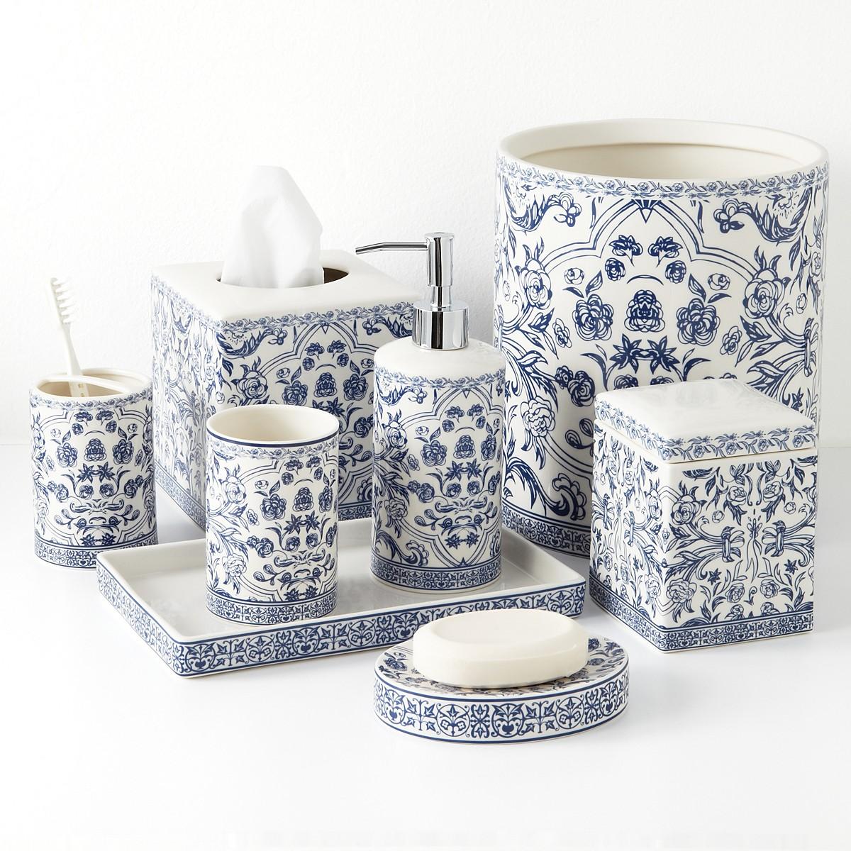 Kassatex Orsay Bath Accessories | Bloomingdale\'s Wedding & Gift Registry