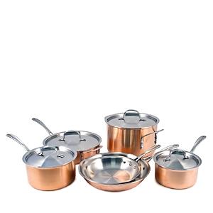 Calphalon Tri Ply Copper 10-Piece Cookware Set
