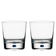 Orrefors Intermezzo Blue Set of 2 Double Old Fashioned Glasses - Bloomingdale's_0