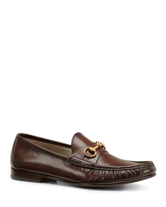 08a42341076 Gucci - Men s Leather Horsebit Loafers