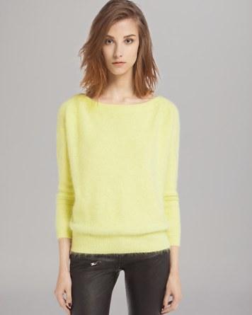 $Maje Sweater - Origan Angora - Bloomingdale's