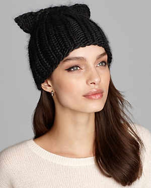Eugenia Kim Felix Knit Cap with Cat Ears