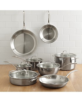 Calphalon - Calphalon Tri-Ply Stainless 13-Piece Set