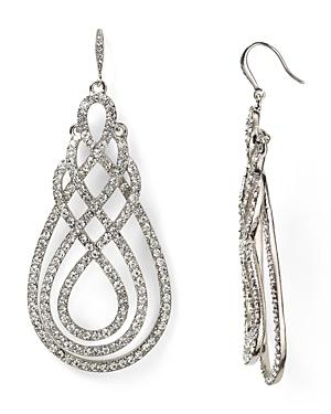 Abs by Allen Schwartz Scroll Drop Earrings