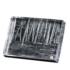 "Simon Pearce Woodbury Square Horizontal Photo Block Gift Set, 5"" x 7"" - Bloomingdale's Registry_0"