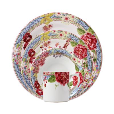 """Mille Fleur"" Dessert Plate"