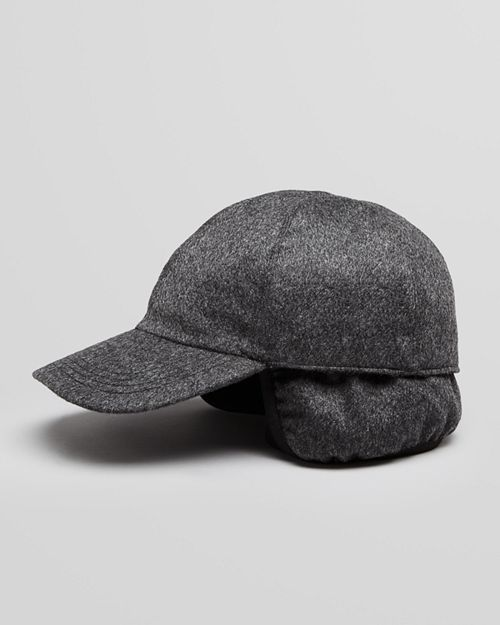 The Men's Store at Bloomingdale's - Cashmere Earflap Baseball Cap - 100% Exclusive