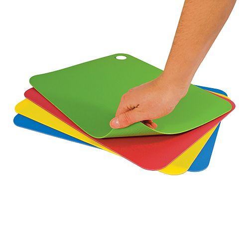 Tovolo - Flexible Cutting Mats, Set of 4