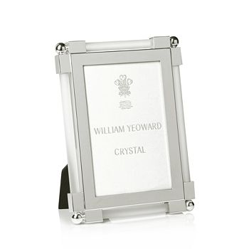 William Yeoward Crystal - Satin Frame, 4 x 6""