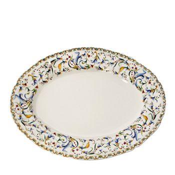"""Gien France - Toscana Oval Platter, 14.5"""""""